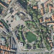 Bürgergarten Luftbild