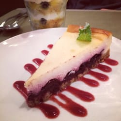 Cherry and Ricotta cheesecake and…