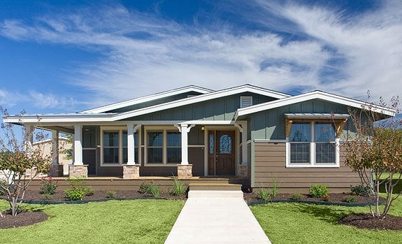 La linda ranch homes log cabin style homes hill country for Ranch style home builders in texas