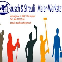 Fausch & Streuli Co Maler-Werkstatt, Oberrieden, Zürich