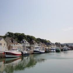 La marie du port port en bessin huppain calvados - Restaurant fleur de sel port en bessin ...