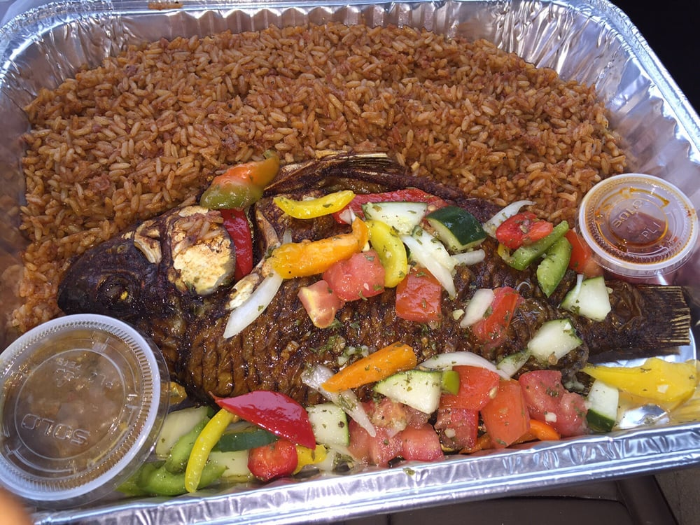 Kings queens african cuisine african restaurants for Fish fast food near me