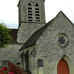 Eglise Saint Caprais de Charteves, Chartèves, Aisne