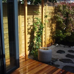 Cedar Decking to a new Japanese Style…