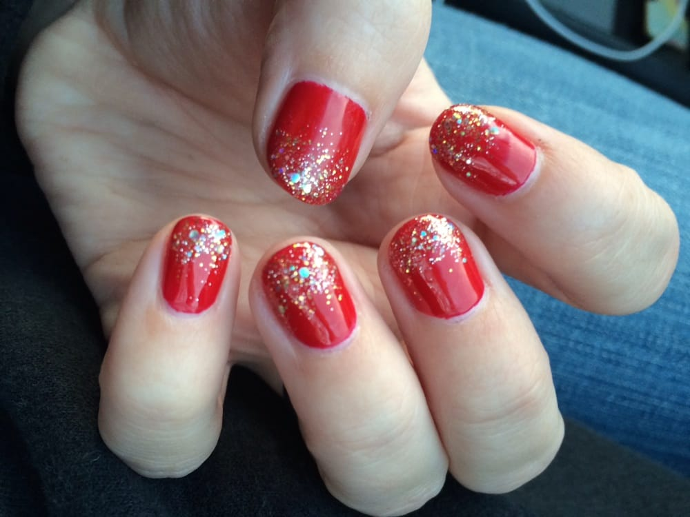 Christmas Nails by Thu