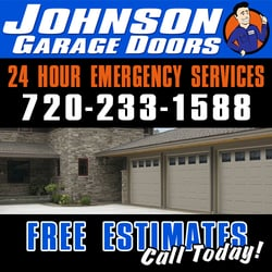 Johnson Garage Doors logo