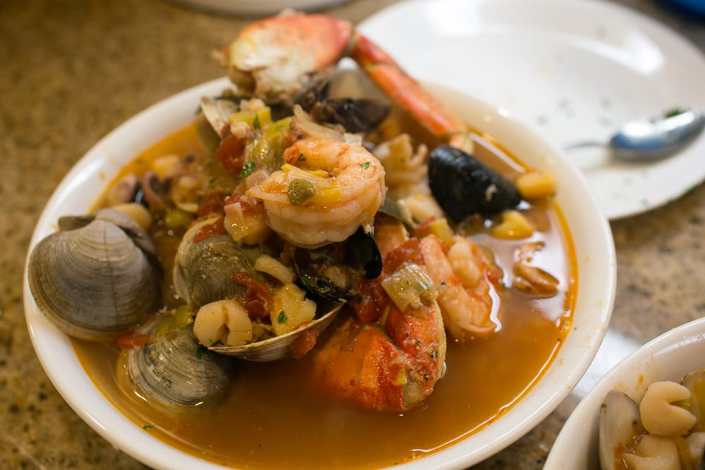 , AZ, United States. awesome cioppino in fish broth, shrimp, lobster ...