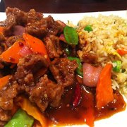 Dragon's Pond - Hunan beef. Level 4 spiciness. - Walnut Creek, CA, Vereinigte Staaten