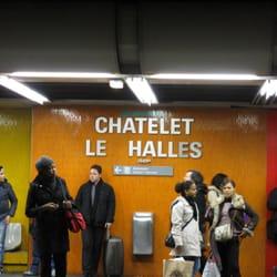 Gare de chatelet les halles ch telet les halles paris france yelp - Chatelet les halles paris ...