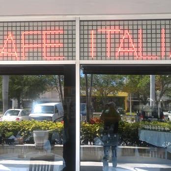Cafe Italia Fort Lauderdale Italian Restaurant Fort Lauderdale Fl