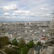 View from the top of Basilique du Sacre…