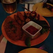Mixed tapas starter for sharing ... Cuban style ... Delicious !!