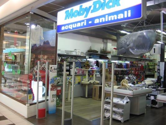 Negozi di animali moby dick negozi di animali allevamenti for Arredamenti per acquari