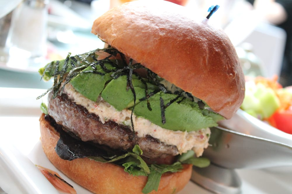 california rolls aren t california roll burger california roll burger ...