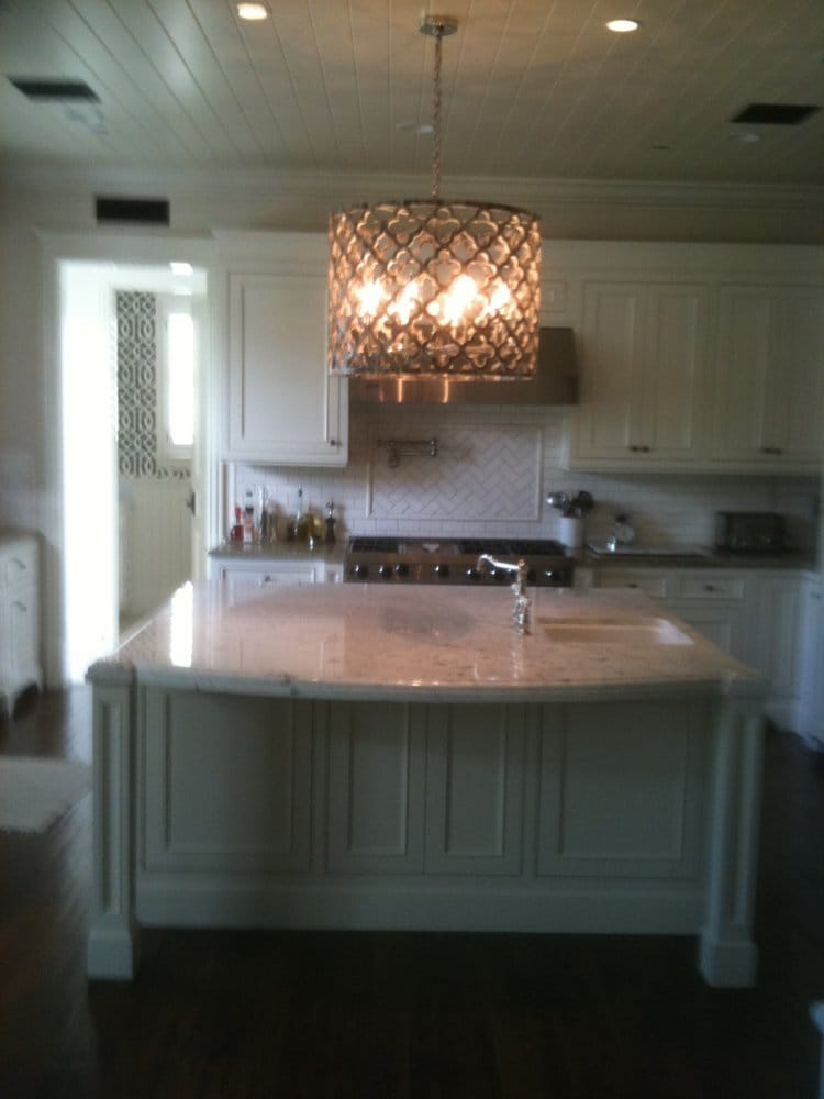Recessed Lighting Yelp : Installed beautiful kitchen chandelier and recessed