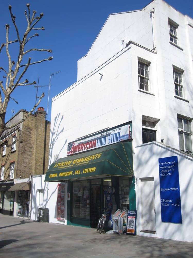 American food store supermarkets notting hill london for American cuisine london
