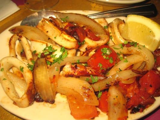 Calamari A La Plancha Recipe — Dishmaps