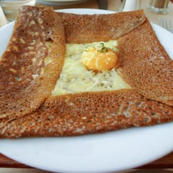 Notice, crepe is extremely thin! Even…