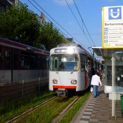 """Haltestelle """"Barbarossaplatz"""", Richtung…"""