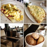 """Strammer Max"" and Shrimp Omelet w/ dill…"