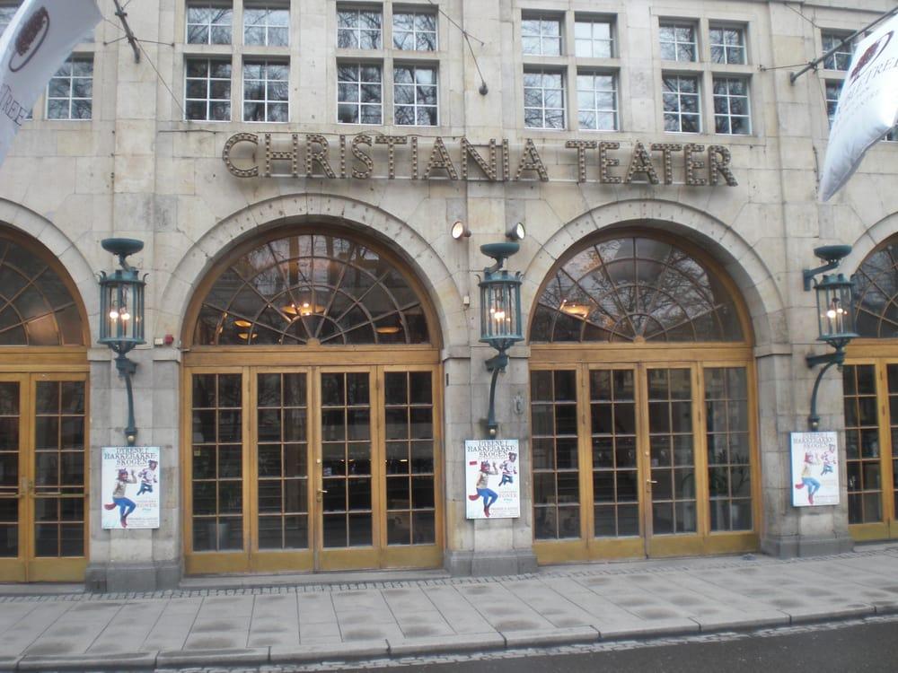 Christiania Oslo Norway Christiania Teater Oslo