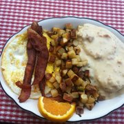 Strawberry Lodge - Country breakfast - Kyburz, CA, Vereinigte Staaten
