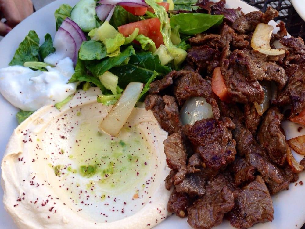 Beef Shawarma Platter Beef Shawarma Platter With