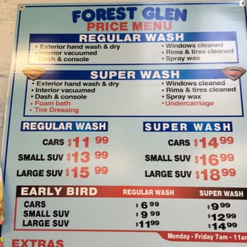Some Guys Car Wash Prices
