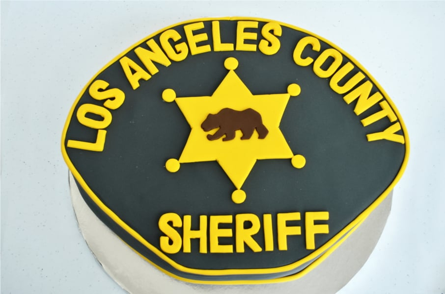 Sinful Treats - LA County Sheriff fundraiser. Look how cool the design looks. - Palmdale, CA, United States