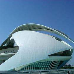 Palau de les Arts, Valencia, Spain