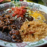 Anayas Fresh Mexican Restaurant - Chicken mole - Glendale, AZ, United States