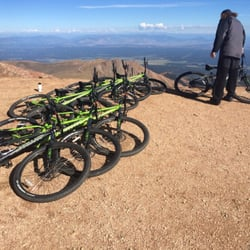 Bikes Colorado Springs Pikes Peak Mountain Bike Tours