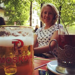 Moskwa pivo and tea!
