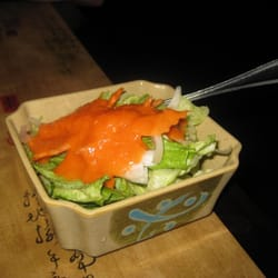 Teapot Restaurant - House salad with Ginger dressing - Northampton, MA, Vereinigte Staaten