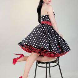 Polka Dot Petticoat Kleider mit…