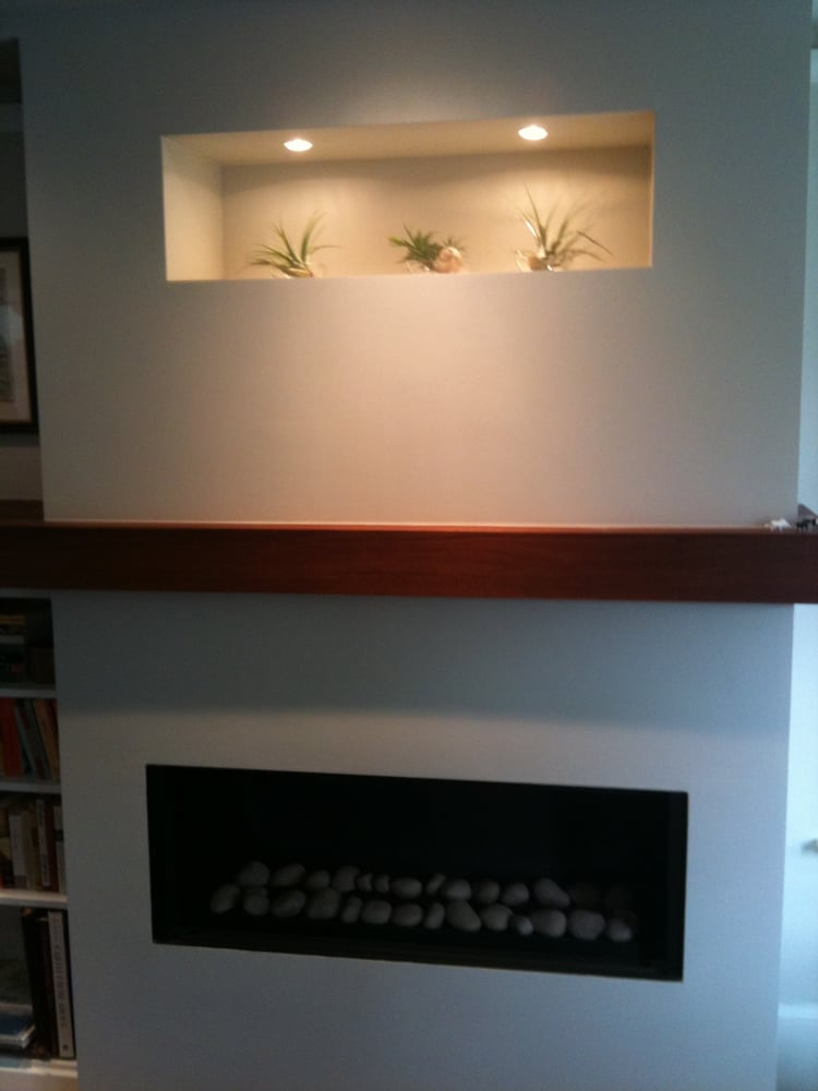 Edith St Berkeley New Fireplace And Wrap Around Mantle