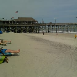 Pier 14 restaurant lounge fishing pier myrtle beach for Pier fishing myrtle beach