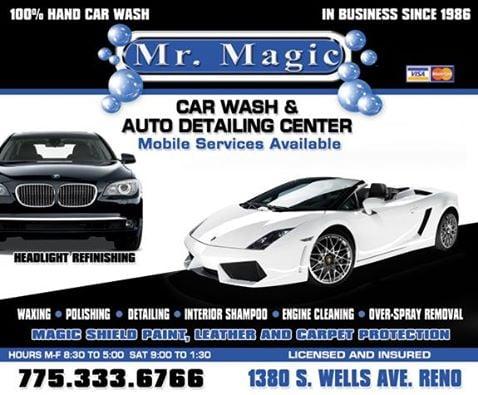 Mr Magic Mobile Car Wash Auto Detailing Car Wash