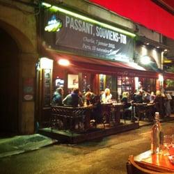 Café 203 - Lyon, France. Devanture du café 203