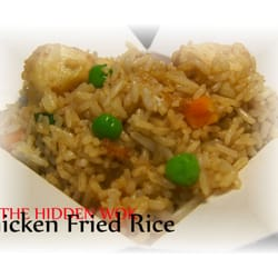 The Hidden Wok - Tucson, AZ, États-Unis. Chicken Fried Rice