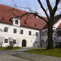 Schlosshof Scheibbs, Scheibbs, Niederösterreich, Austria
