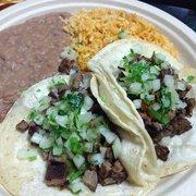 Tacos Por Favor - 2 Tacos Plate - Los Angeles, CA, Vereinigte Staaten