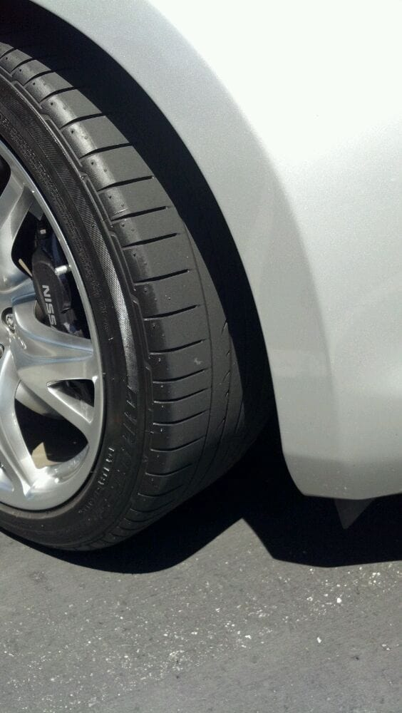 """Merchants Tire Near Me >> After - Used Bridgestone Potenza RE050A 245 40 19 w/ 6/32"""", 4 wheel alignment and car wash 