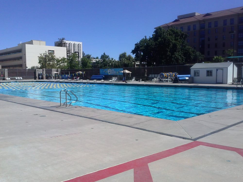 San Jose State University Aquatic Center Swimming