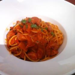 Spaghetti mit Salsiccia