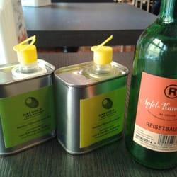 Feines Olivenöl zum Probieren