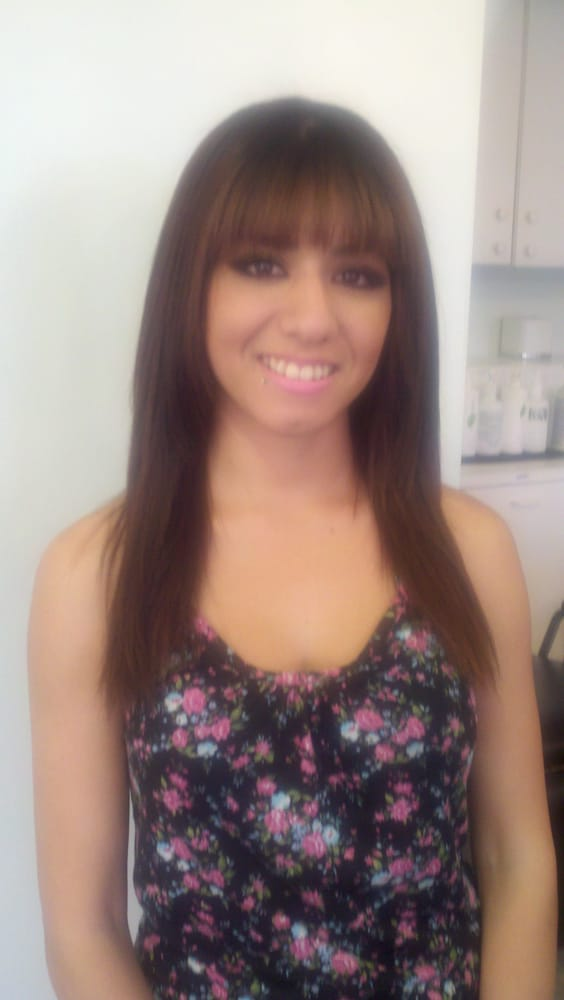 Client After Yuko Japanese Hair Straightening Yelp