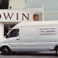 Baldwin Hardware Specialist - Our Van in front of Baldwin in Reading PA 2006 - Costa Mesa, CA, Vereinigte Staaten