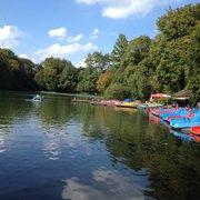 Kleinhesseloher See, München, Bayern