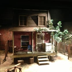 Stage set up for Fences